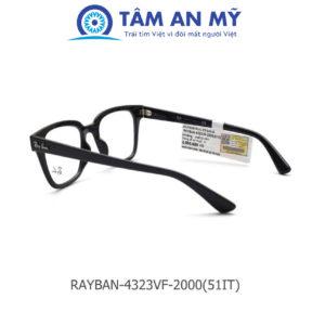 Gọng kính nam Rayban RB 4323VF