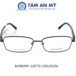 Gọng kính nam BURBERR 1287TD-1091 (Custom)