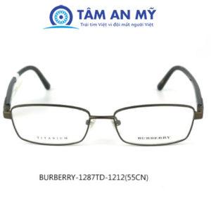 Gọng kính nam BURBERR 1287TD-1212 (Custom)