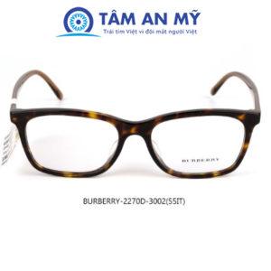 Gọng kính nữ BURBERRY 2270D-3002